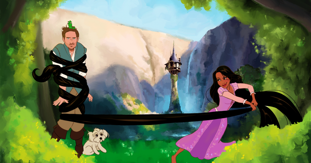 This guy turned his girlfriend into 6 different Disney princesses for Valentine's Day