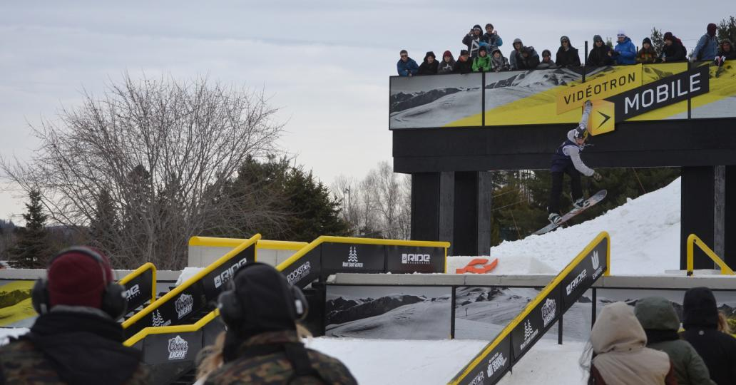 Les qualifications du Rail Jam Coors Light au Ride Shakedown en photos