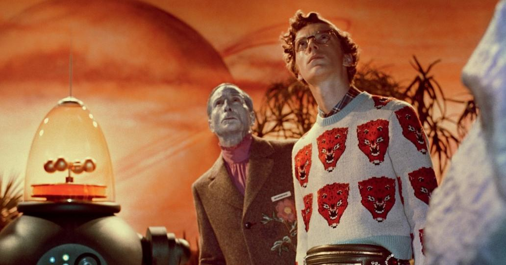 Gucci s'amuse et s'inspire de films de science-fiction vintage