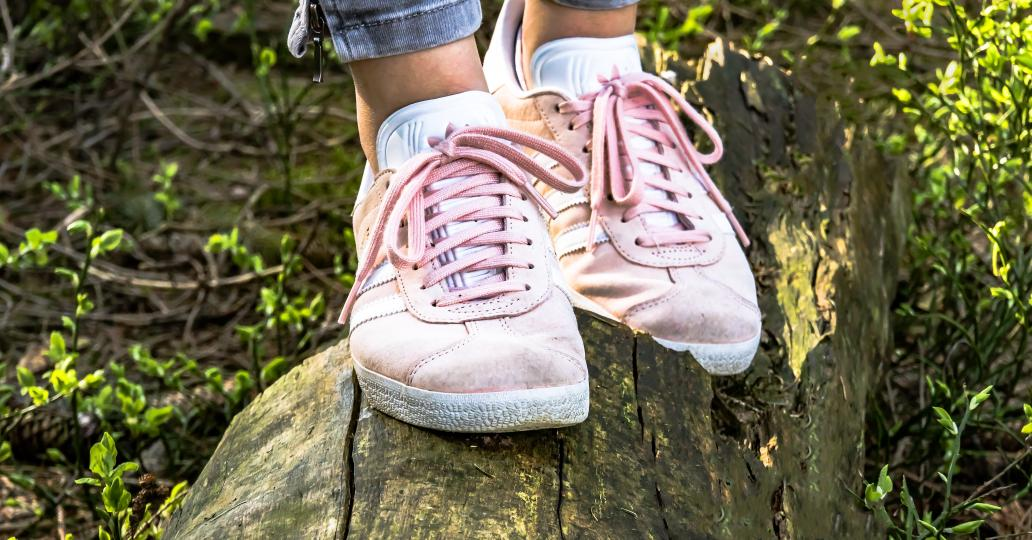 Des sneakers qui appellent le printemps