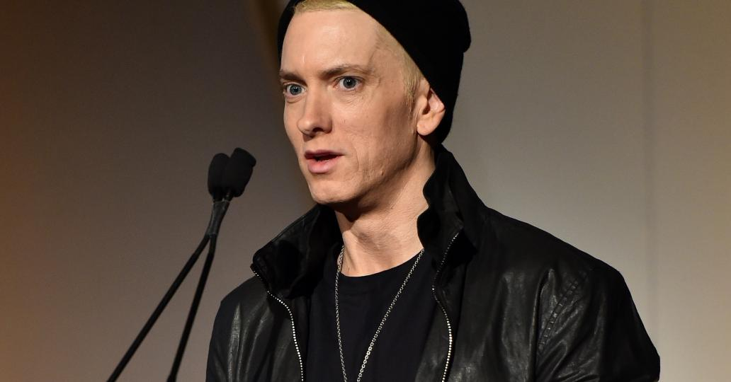 Eminem pulls a Renee Zellweger, looks unrecognizable at Innovator Of the Year Awards