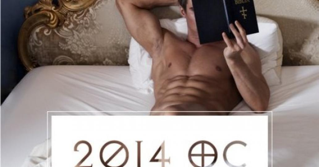 2014 Orthodox Calendar shows off hunky 'priests' getting steamy and exploring a same-sex marriage theme [NSFW]