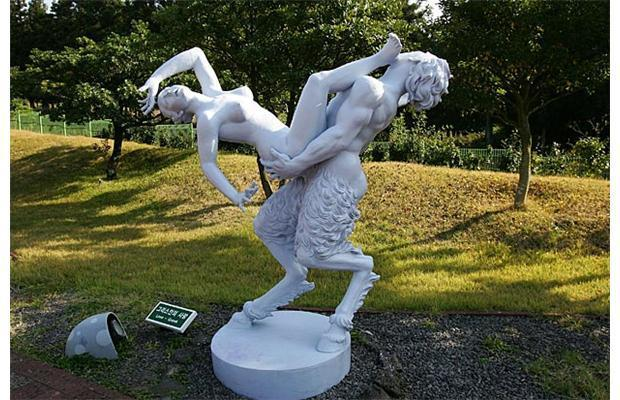 South Korea's Love Land is a park dedicated to sex, showcasing 140 VERY erotic sculptures - threesome statue, anyone? (NSFW)