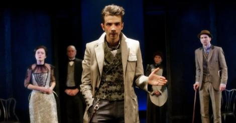 Jay Baruchel's stage debut as Sherlock Holmes makes for a witty, crowd-pleasing comedy