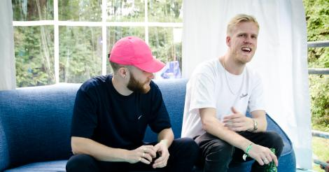 10 minutes with Snakehips, talking Zayn, The Weeknd and Osheaga