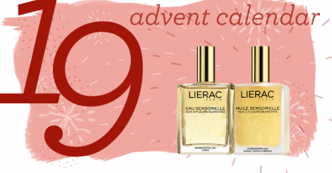 Advent Calendar Day 19: Win L'Eau Sensorielle and L'Huile Sensorielle by Lierac Paris!