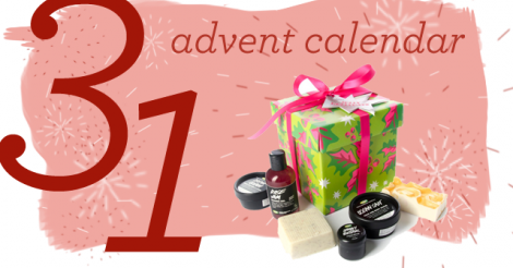 Advent Calendar Day 31: Capping off the Year with an Awesome Gift-box from LUSH