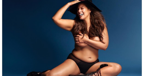 ​Ashley Graham shares a nude picture of herself and SHE. LOOK. INCREDIBLE.