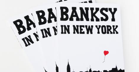 On dit oui au bouquin Bansky in New York