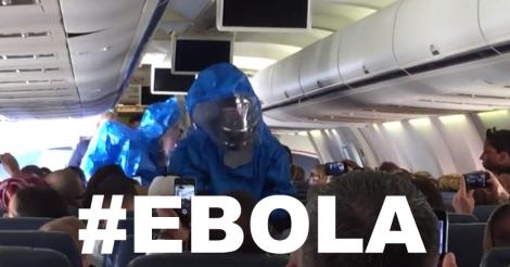 Ebola Pranks on a Plane: it's definitely too soon for that [video]