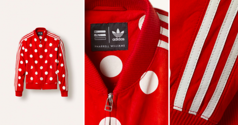 Embrasser le polka dots avec la collabo Adidas X Pharrell Williams