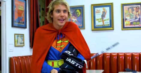 Justin Bieber Is Canadian Superman