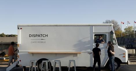 Le Dispatch troque son camion et ouvre un café sur le campus de McGill