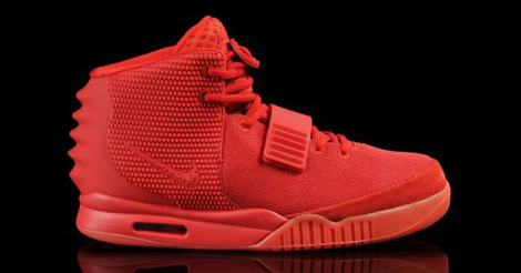 Les Air Yeezy II Red October de Kanye West sont en vente pour... 16 millions $.