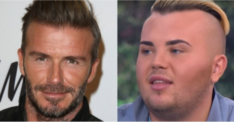 ​This man spent $35,000 to look like David Beckham