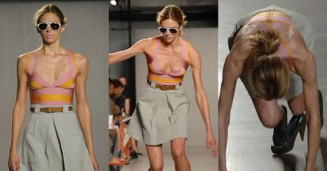 Shame Sheet. Your Most Embarrassing Moments on Display: Fashion Week Edition