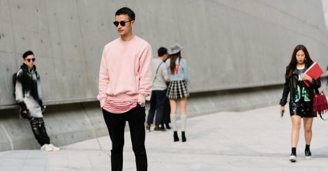 Tendance mode: le rose maintenant masculin!