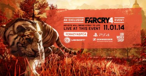 Ubisoft and PlayStation want you to be the first to try Far Cry 4 in Toronto!