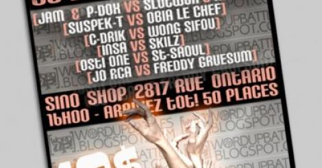 Word Up Battles 3: Le programme