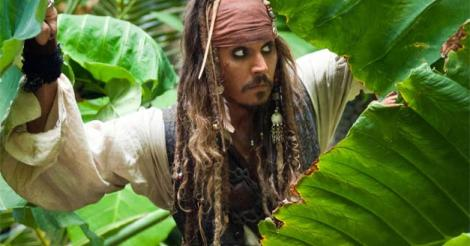 Johnny Depp Unleashes His Inner Captain Jack for Pirates Sequel