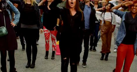 What Doesn't Kill You Makes You Join a Flash Mob; Watch Kelly Clarkson's New Video