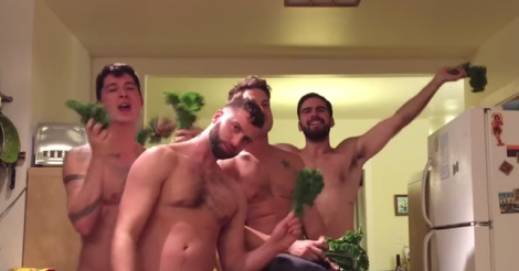 Watch Boyonce's shirtless hunks flawlessly remake Beyonce's '7/11' video... with kale