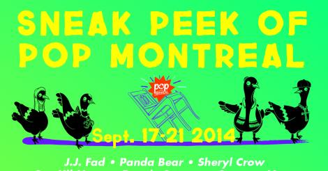 Pop Montreal offers sneak peak of 2014 lineup, including Twin Shadow and Sheryl Crow