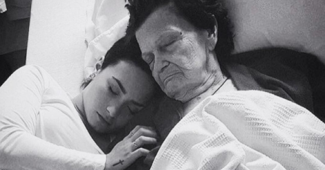 Demi Lovato mourns great-grandmother with heart-wrenching Instagram post