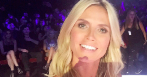 ​Heidi Klum delivers the perfect response to Donald Trump insult