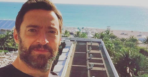 Watch Hugh Jackman rescue swimmers from dangerous riptipe at Sydney's Bondi beach
