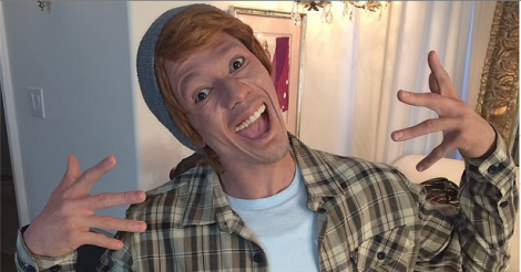 Nick Cannon reveals white alter ego to promo new album - did he go too far?