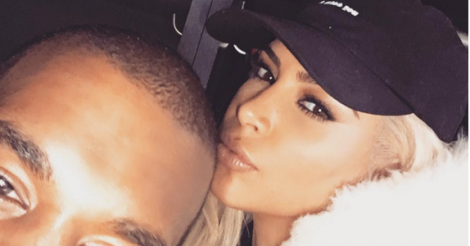 Kanye West caught singing Justin Bieber in Kim Kardashian's hilarious Snapchat - see it here