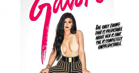 Kylie Jenner poses for Terry Richardson in raunchy shoot