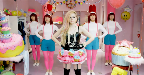 Avril Lavigne's 'Hello Kitty' video may be the worst thing we've ever seen, seriously