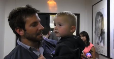 Bradley Cooper + Channing Tatum + two-year-old basketball superstar 'Trick Shot' Titus? Yes, please! [VIDEO]