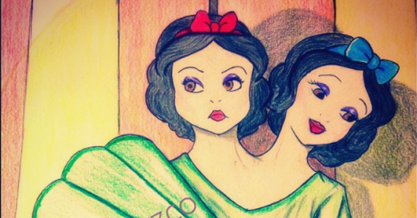 Artist transforms Disney princesses into American Horror Story: Freak Show characters