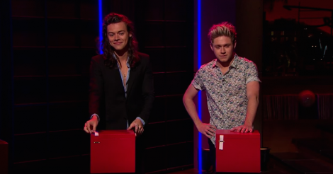 Guess the One Direction guy who got a tattoo LIVE on The Late Late Show [VIDEO]