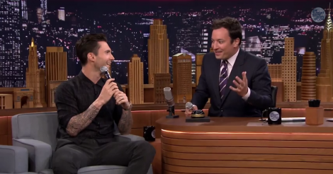 Adam Levine's Michael Jackson impression and Jimmy Fallon's Bob Dylan are eerily perfect