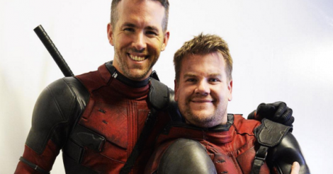 Watch Ryan Reynolds shut down James Corden's dream of becoming Deadpool's sidekick