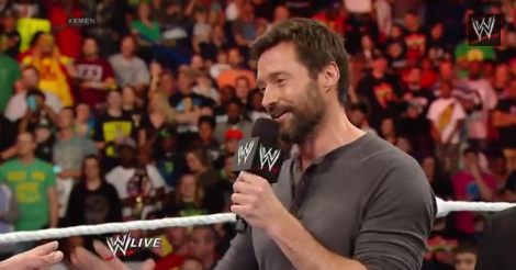 Hugh Jackman's WWE Raw appearance was something else, alright [VIDEO]