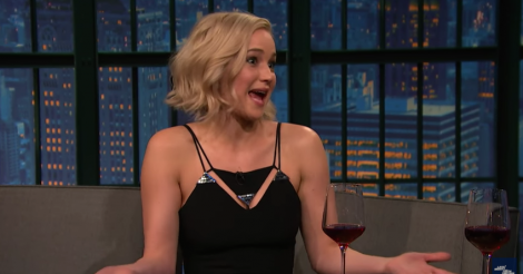 Jennifer Lawrence confesses to Seth Meyers that she almost asked him out [VIDEO]