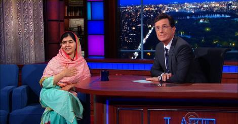 ​Malala Yousafzai showed off her best magic tricks to Stephen Colbert [VIDEO]