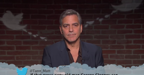 George Clooney, Cate Blanchett star in harshest Mean Tweets episode ever [VIDEO]