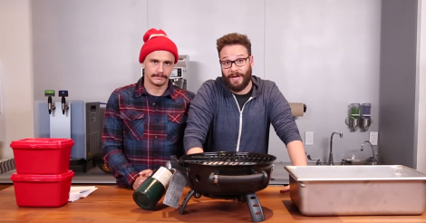 James Franco & Seth Rogen's Epic Meal Time episode is their best collaboration to date [VIDEO]