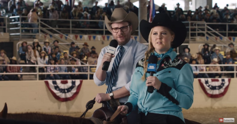 Will Amy Schumer and Seth Rogen win the Super Bowl with this ad?! [VIDEO]