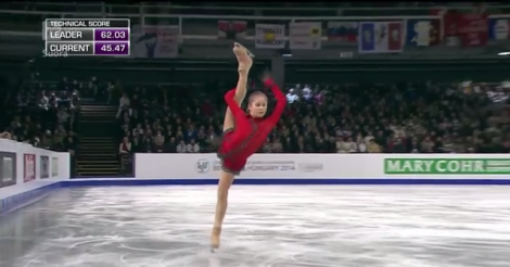 15-year-old figure skater Yulia Lipnitskaya slays competition, blows our minds [VIDEO]