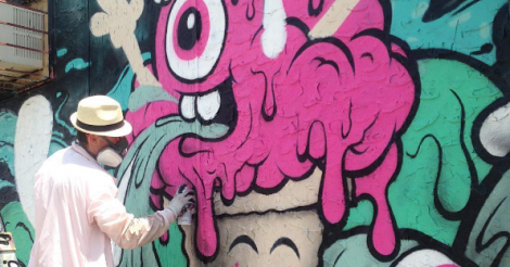 This ice cream-loving artist has us seriously excited about Montreal's MURAL festival
