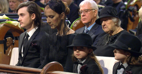 Celine Dion lays husband René Angélil to rest - a look inside the emotional Montreal funeral