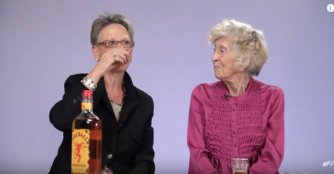 Grandmas try Fireball Whisky for the first time and the results are amazing [VIDEO]