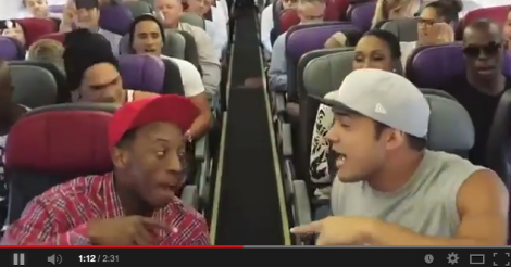 Cast of The Lion King musical sings 'Circle of Life' on plane - Best. Flight. Ever. [VIDEO]